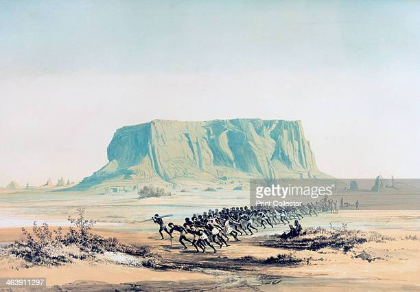 'View of Mount Barkal' Sudan 18421845 Jebel Barkal is a mountain 400 kilometres north of Khartoum In c1450 BC the Egyptian Pharaoh Thutmose III...