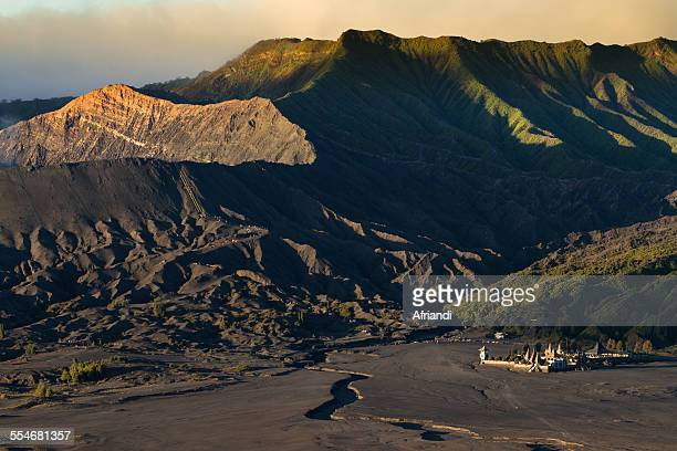 view of mount bromo, indonesia - bromo crater stock pictures, royalty-free photos & images