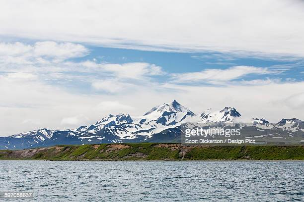 View Of Mount Frosty From The Cold Bay Dock, Alaska Peninsula