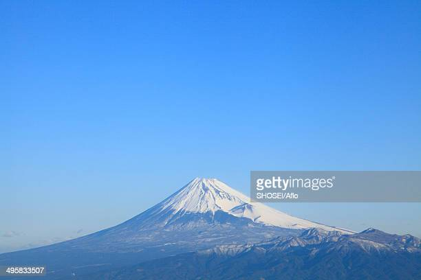 view of mount fuji, japan - shizuoka stock pictures, royalty-free photos & images
