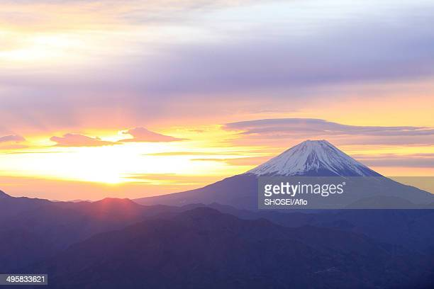 View of Mount Fuji, Japan