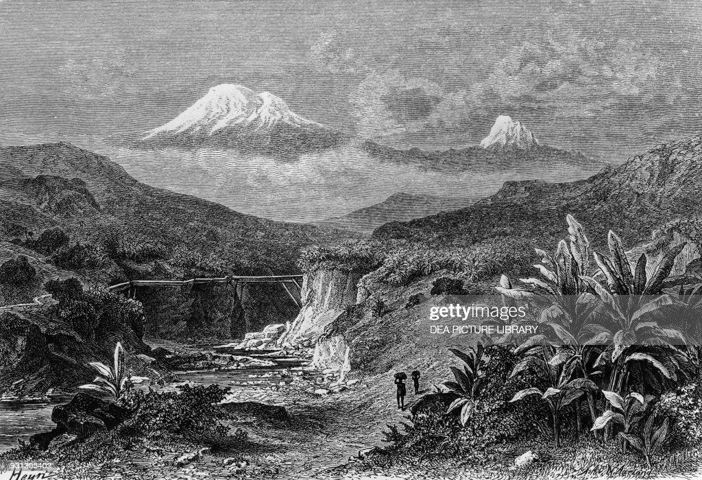 View of Mount Kilimanjaro : News Photo