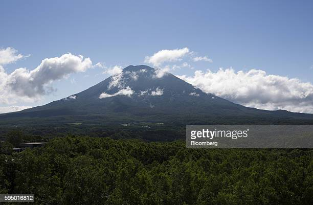 A view of Mount Yotei from the penthouse of the Vale Niseko in Kutchan Hokkaido Japan on Wednesday July 20 2016 The Niseko areas booming economy has...