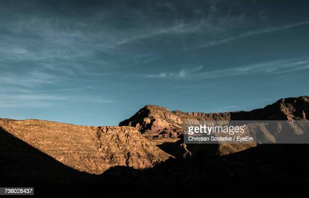view of mountain against sky - christian soldatke stock pictures, royalty-free photos & images