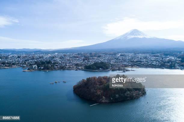 山富士の眺め。
