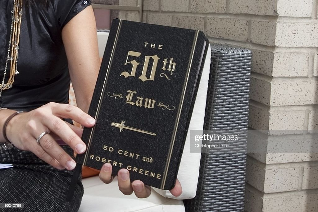 A view of Music Artist 50 Cent's new book 'The 50th Law' on September 22, 2009 in New York City.