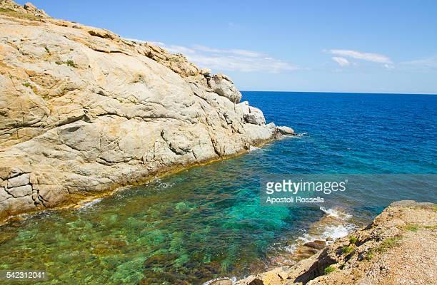 view of Mykonos beach
