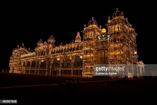 mysore palace stock photos and pictures getty images