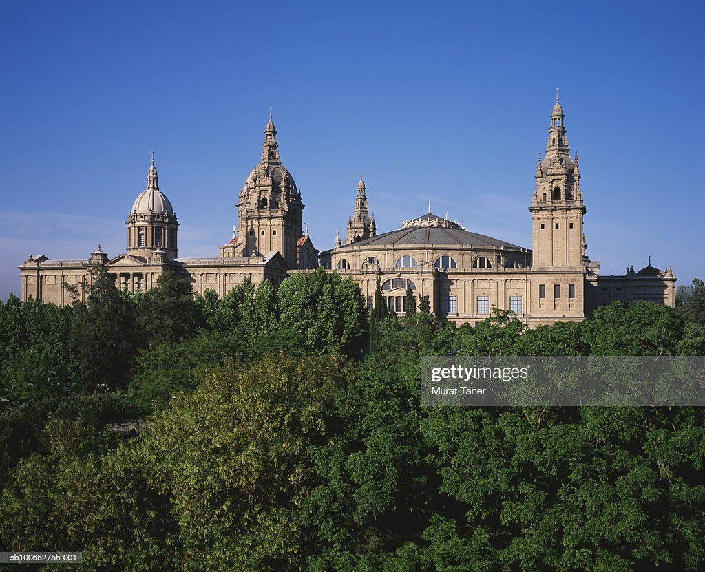 View of National Palace : Foto stock