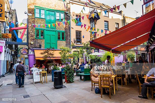view of neal's yard - square stock pictures, royalty-free photos & images
