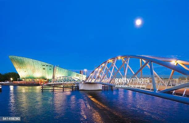view of nemo, amsterdam - nemo museum stock pictures, royalty-free photos & images