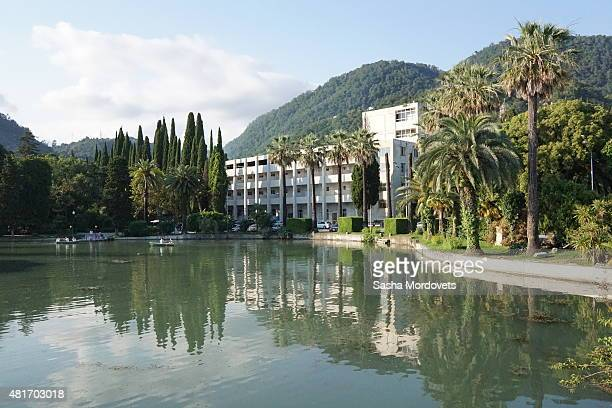 A view of New Athos Abkhazia July 2015 Football teams from rebel republics and separatist regions will gather in Abkhazia in 2016 for an alternative...