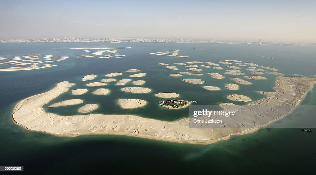 Dubais economy booms photos and images getty images a view of new development the world is seen from the air december 17 gumiabroncs Gallery