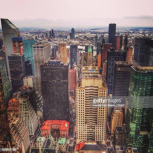 View of new york city