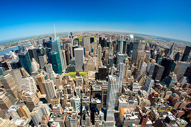 View Of New York From Empire State Building Wall Art