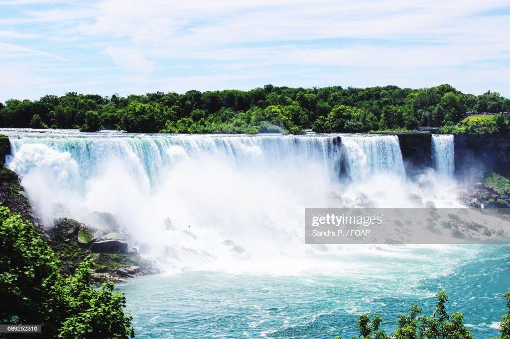 View of niagara waterfalls : Stock Photo