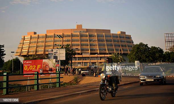 A view of Niamey on September 13 2012 AFP PHOTO / SIA KAMBOU