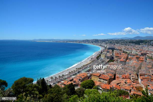 View of Nice France