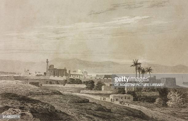 View of Nicosia Cyprus engraving by Lemaitre from Iles de la Grece by Louis Lacroix L'Univers pittoresque published by Firmin Didot Freres Paris 1853