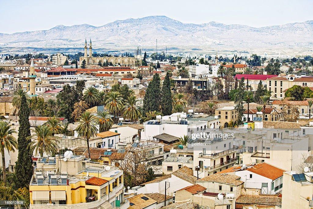 View of Nicosia. : Stock Photo