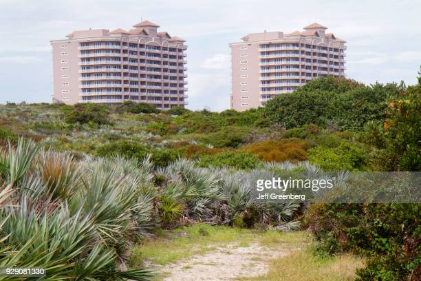 View of Ocean Royale Condominiums from Loggerhead Park.