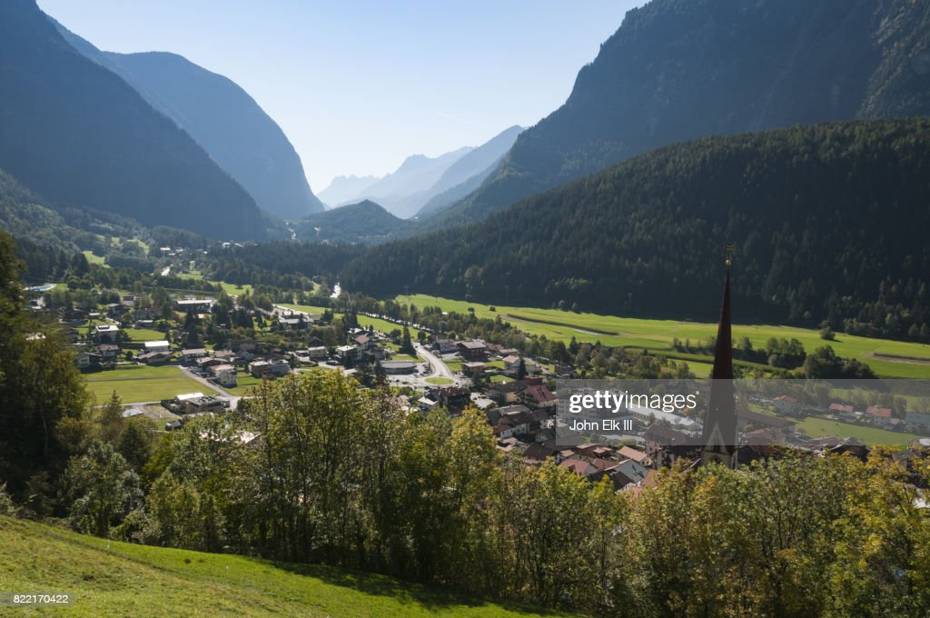 View of Oetz, Austria : Stock Photo