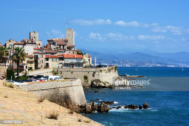 view of old Antibes France