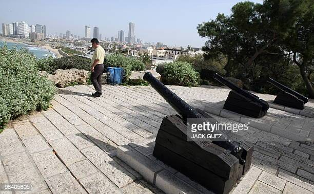 A view of old canons in the ancient port city of Jaffa south of Tel Aviv on February 19 2010 Jaffa is believed to be one of the oldest cities in the...