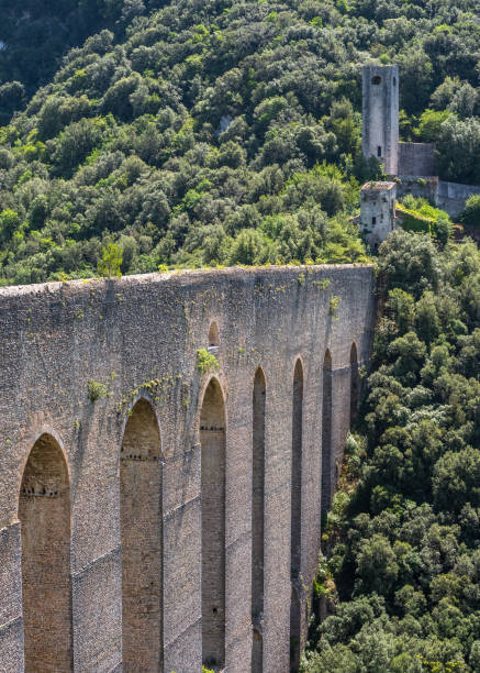 View Of Old Ruins, Spoleto, Italy