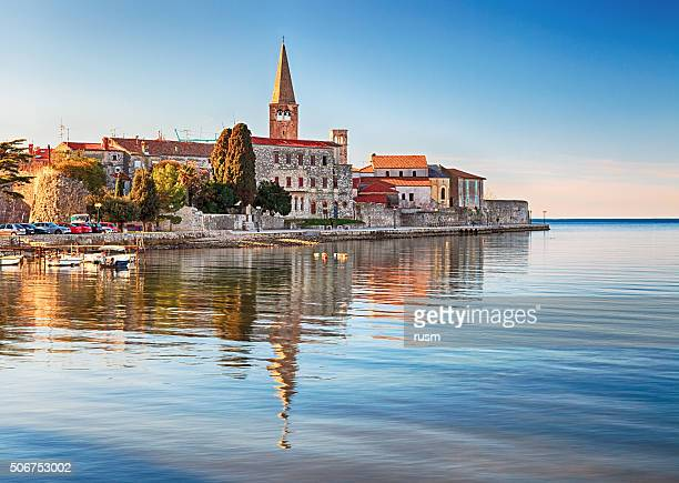 View of old town Porec, Croatia