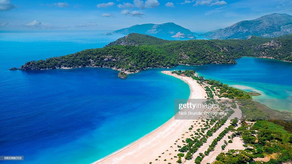 View of Oludeniz, Turkey : Stock Photo