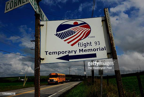 A view of one of the Flight 93 Memorial direction signs just outside of ShanksvilleThe small Pennsylvania town of Shanksville PA has never been the...