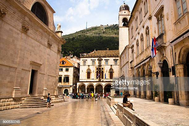CONTENT] A view of one of the main streets in the old town of Dubrovnik Croatia This is one of the most beautiful walled towns in Europe and a great...