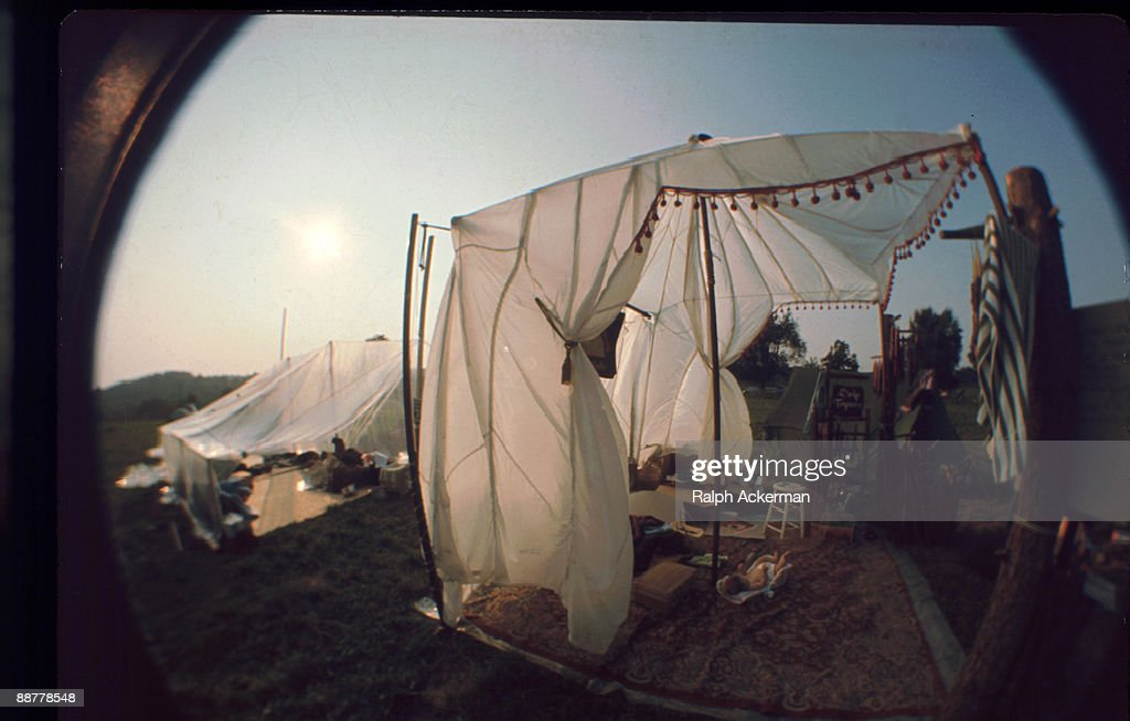 Woodstock Baby In A Silk Tent & Woodstock Baby In A Silk Tent Pictures   Getty Images