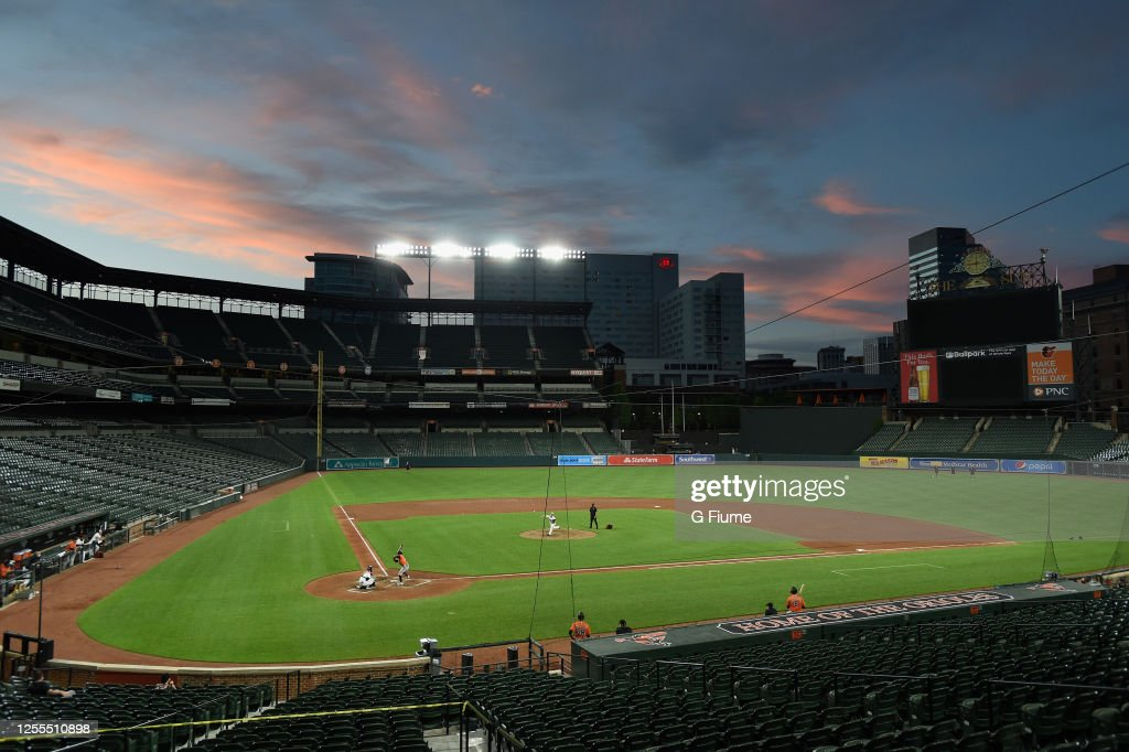 Baltimore Orioles Summer Workouts : News Photo