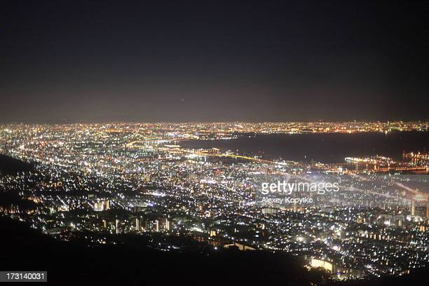 view of osaka bay - 兵庫県 ストックフォトと画像
