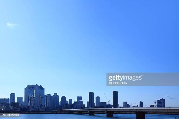 View of Osaka, Japan