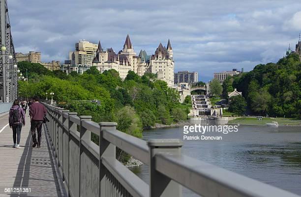 View of Ottawa from Alexandra Bridge