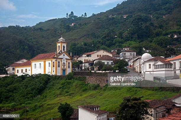 view of ouro preto - preto stock pictures, royalty-free photos & images