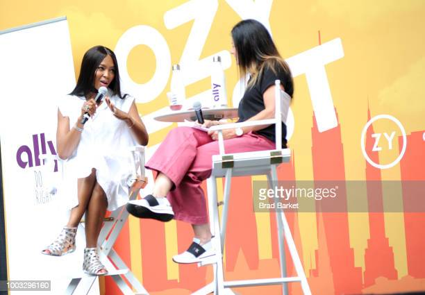 A view of OZY Fest 2018 at Rumsey Playfield Central Park on July 21 2018 in New York City