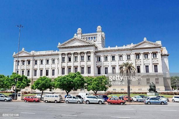 """view of """"palacio legislativo"""", montevideo, uruguay. - uruguai - fotografias e filmes do acervo"""