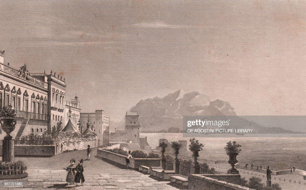 Palazzo Butera, Palermo, Monte Pellegrino, Sicily Pictures   Getty ...