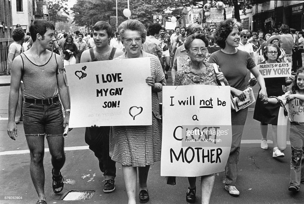 Gay Pride Day, 1975 : News Photo