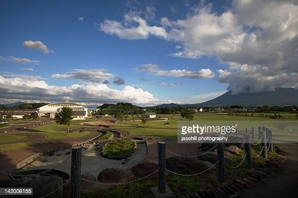 view of park in hachimantai - 八幡平市 ストックフォトと画像