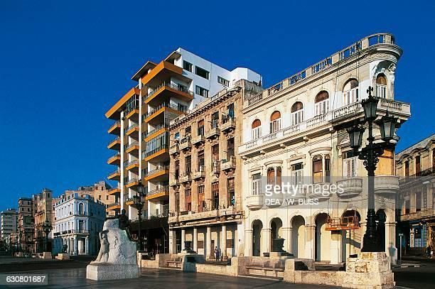 View of Paseo de Marti , Old Havana , Cuba.