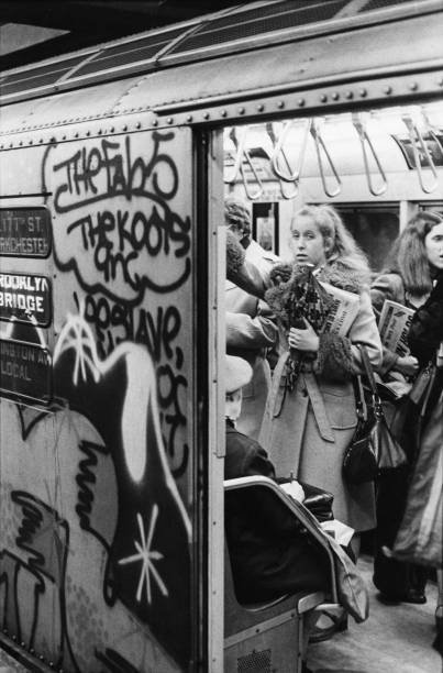 Subway Car, 1977 Wall Art