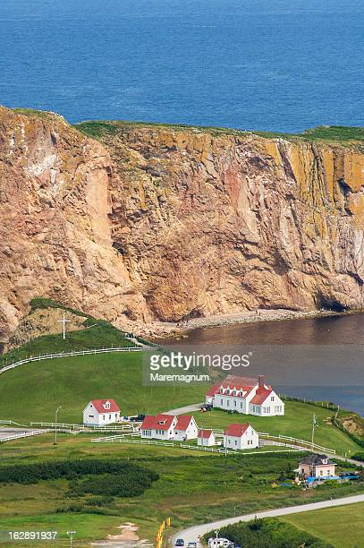 View of Percé  and the rock