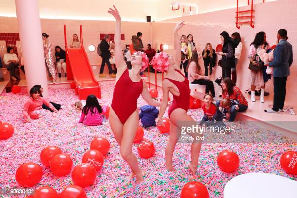 A view of performance during Museum of Ice Cream SoHo Flagship Opening Party on December 12 2019 in New York City