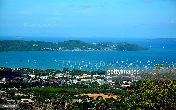 View of Phuket Island Bay