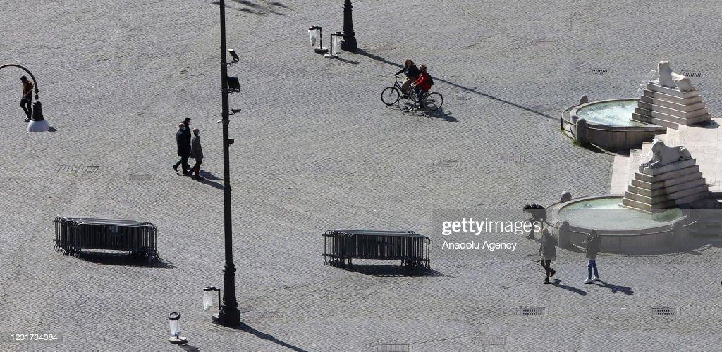 Red Zones in Italy : Foto di attualità